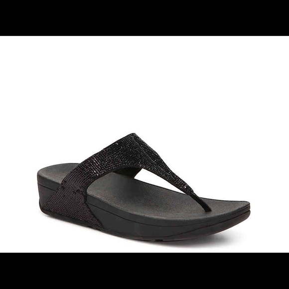 2129c359c Fitflop Shoes - Fitflop Black Sequin Electra